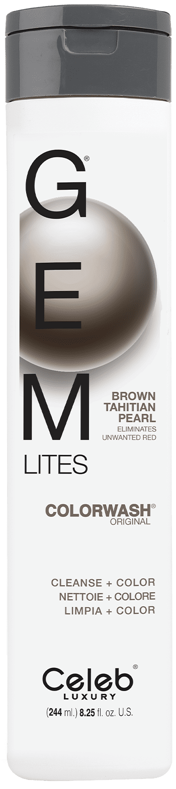 Brown Tahitian Pearl Colorwash